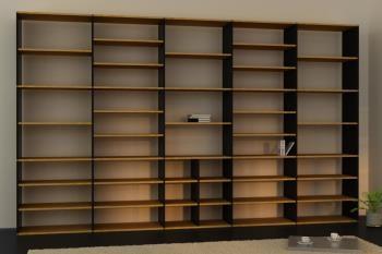 Bücherregale online planen und kaufen. Große Auswahl an Materialien ...