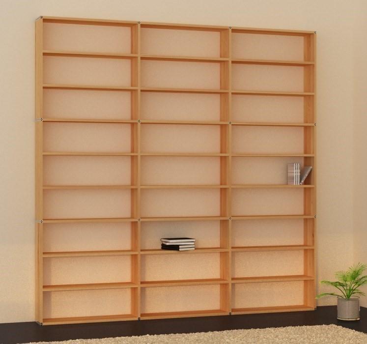 regale aus holz massivholzregale online kaufen vollholzregal b cherwand vollholz wohnen. Black Bedroom Furniture Sets. Home Design Ideas