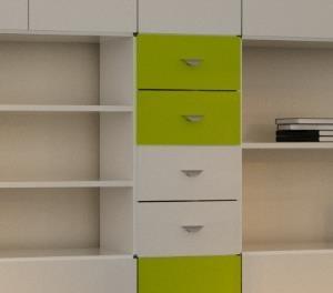 b cherregal mit schubladen bestseller shop f r m bel und einrichtungen. Black Bedroom Furniture Sets. Home Design Ideas