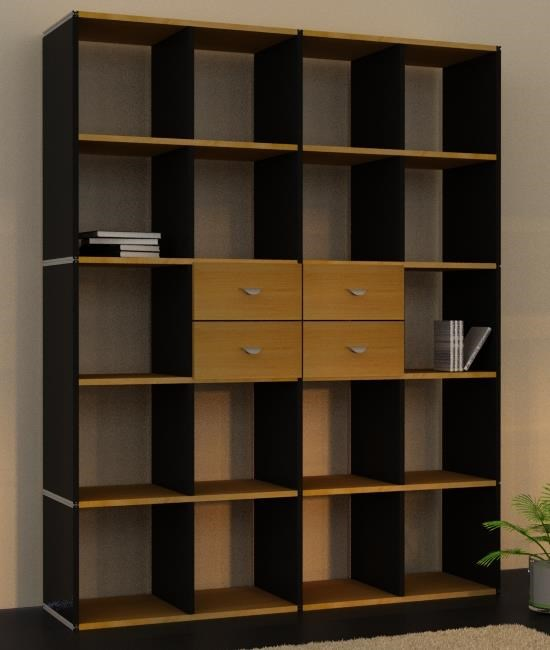 b cherregale direkt vom hersteller regale nach mass f r wohnen und b ro. Black Bedroom Furniture Sets. Home Design Ideas
